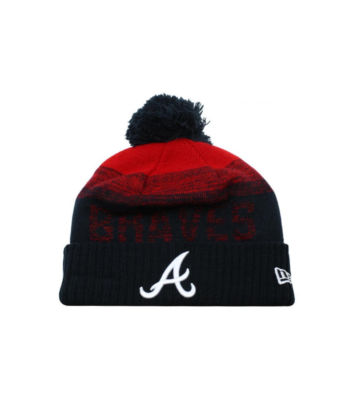 Détails Bonnet MLB Sport Knit Atlanta - image 2