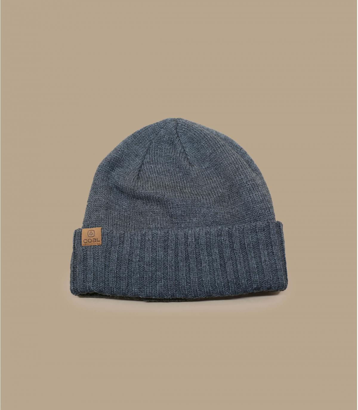 bonnet revers gris Coal