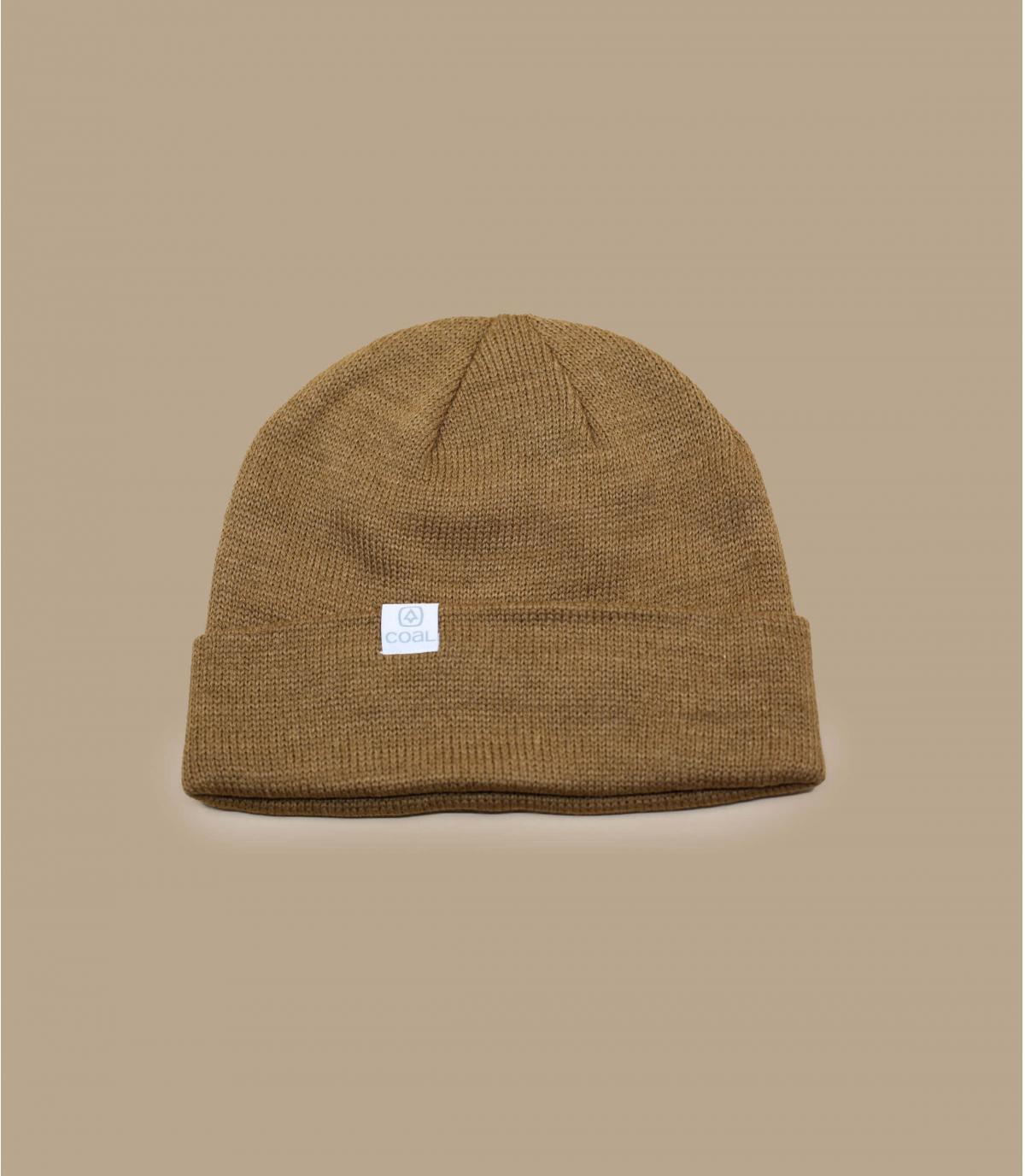 bonnet long marron Coal