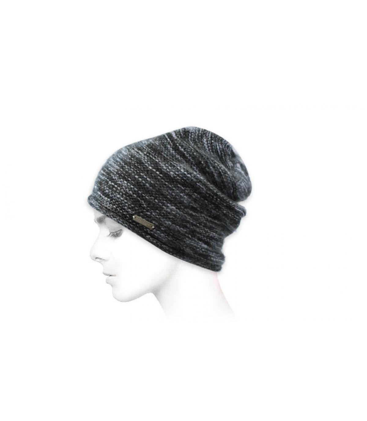 bonnet gris Seeberger