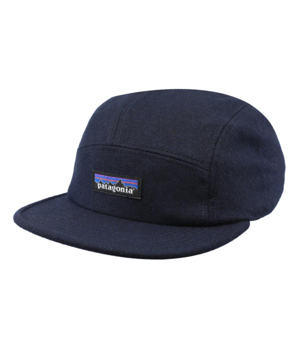 Détails Recycled Wool Cap navy - image 2