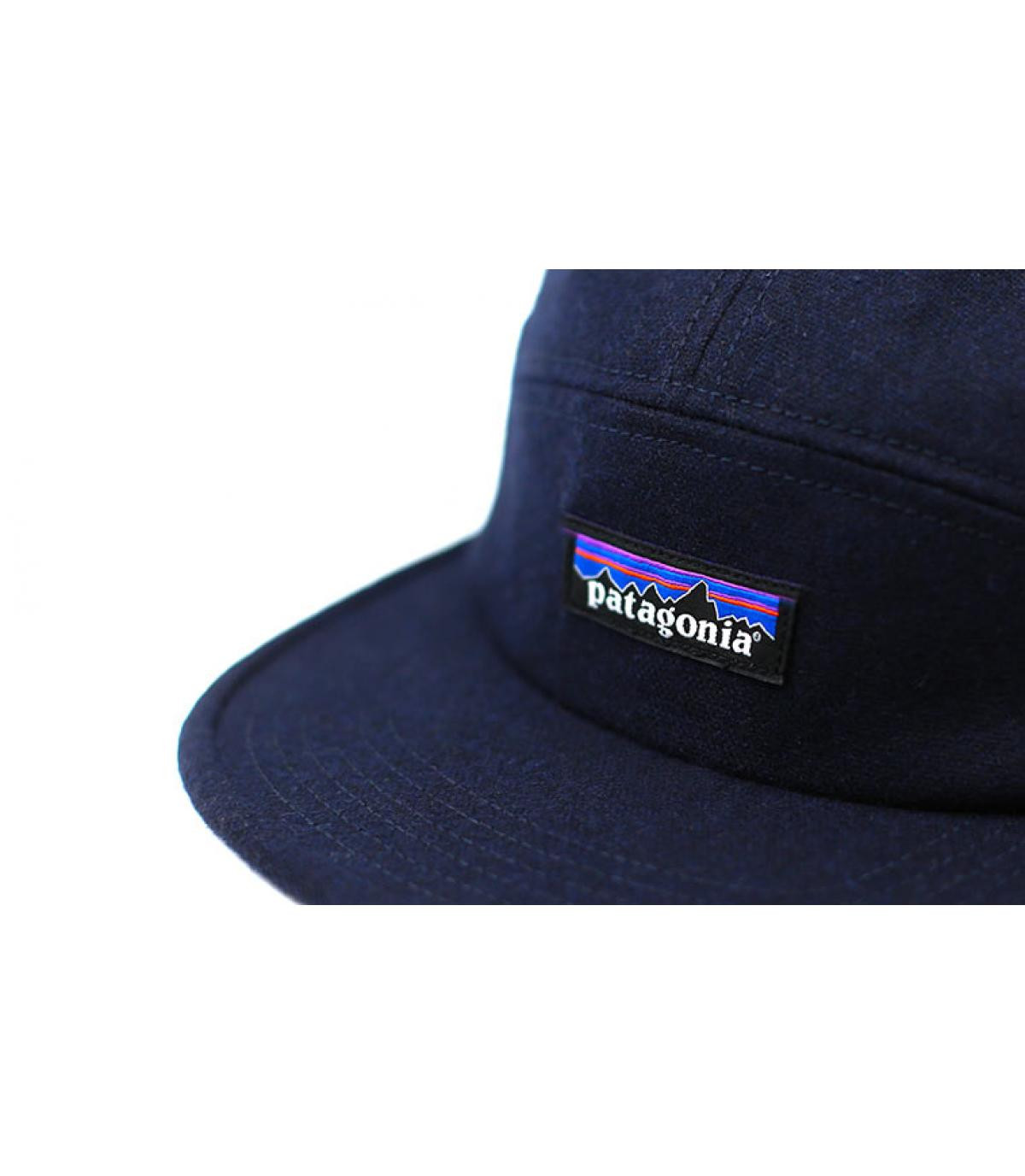 Détails Recycled Wool Cap navy - image 3