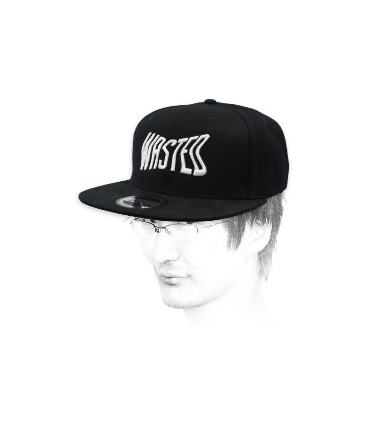 casquette wasted