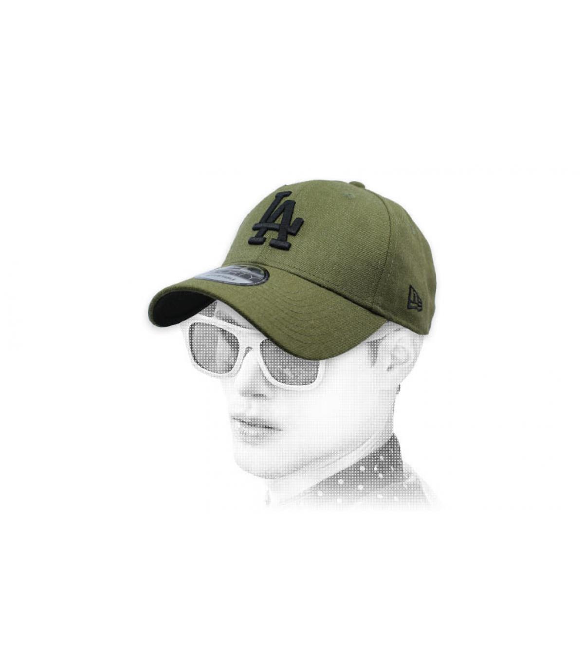 casquette A vert
