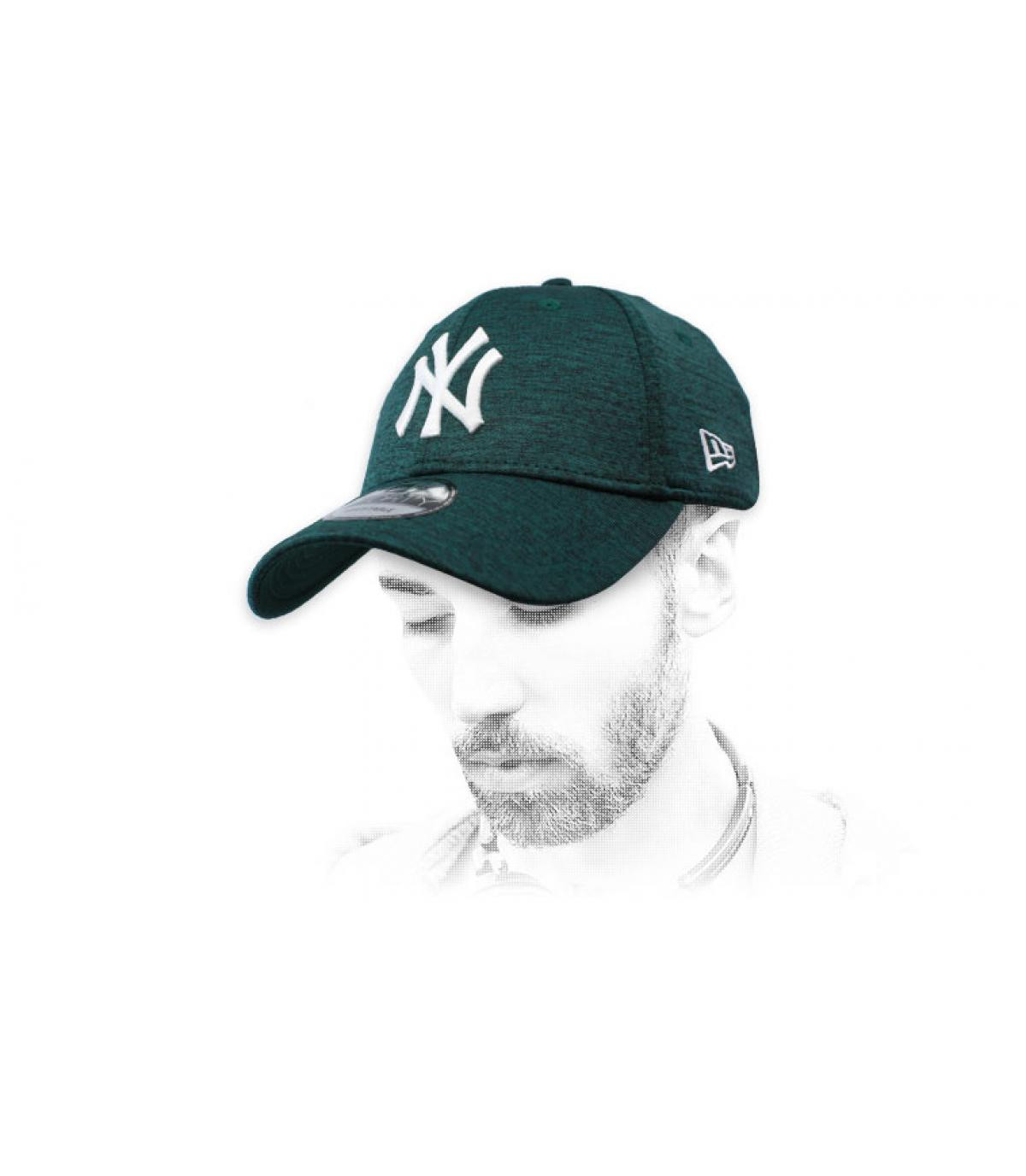 casquette NY vert Dry Switch