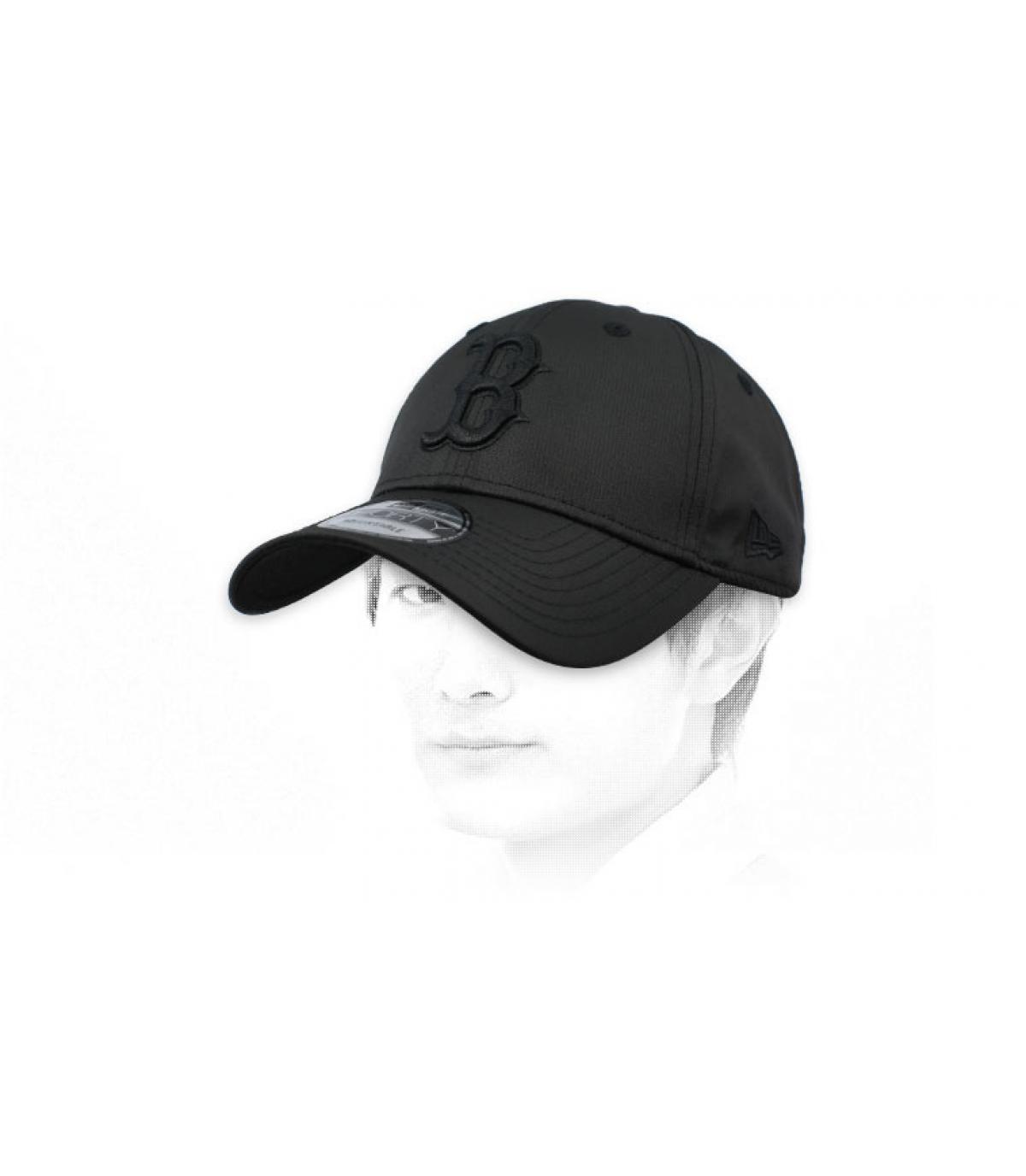 casquette B noir ripstop