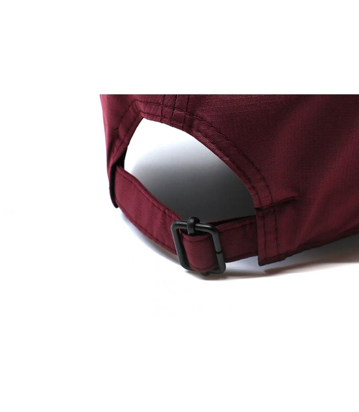 Détails Casquette Ripstop NY 9Forty maroon black - image 5