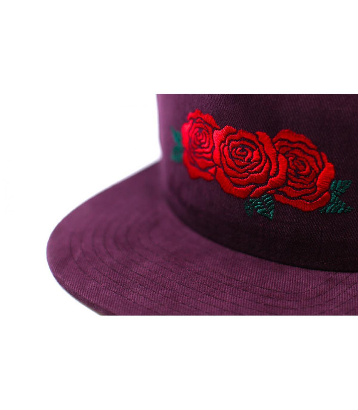 Détails Triple Rose Snapback porro - image 3