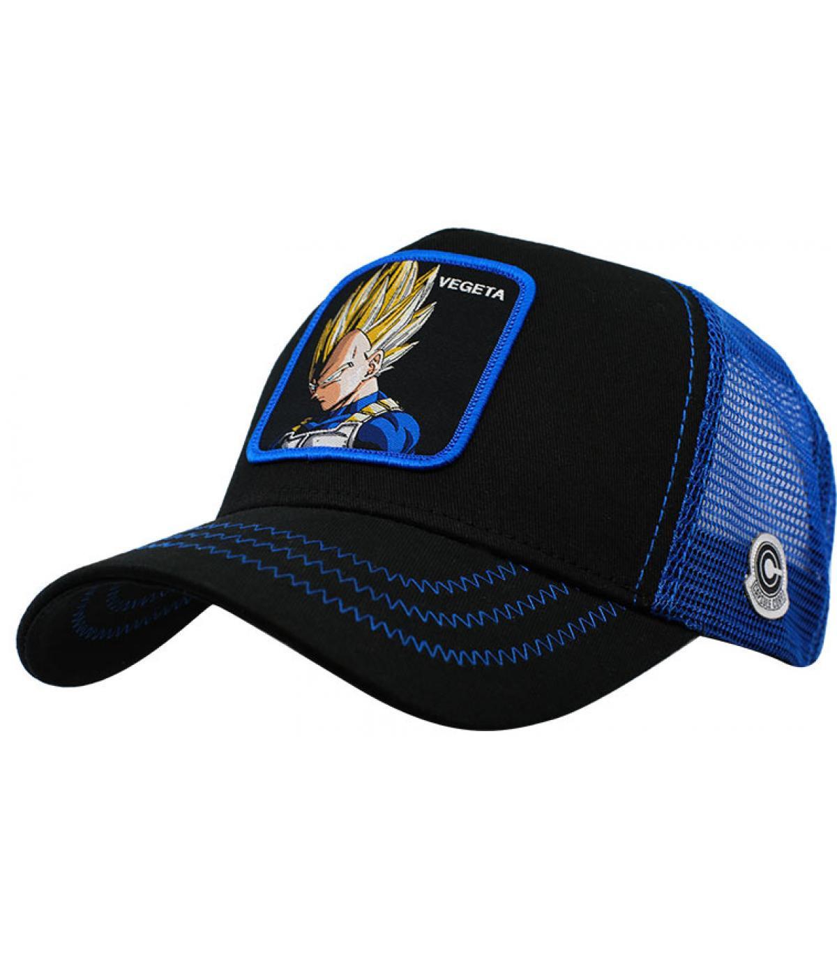 trucker Vegeta noir bleu
