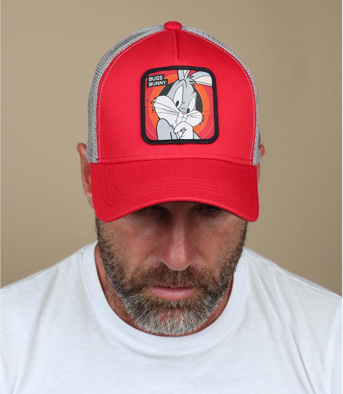 trucker Bugs Bunny rouge