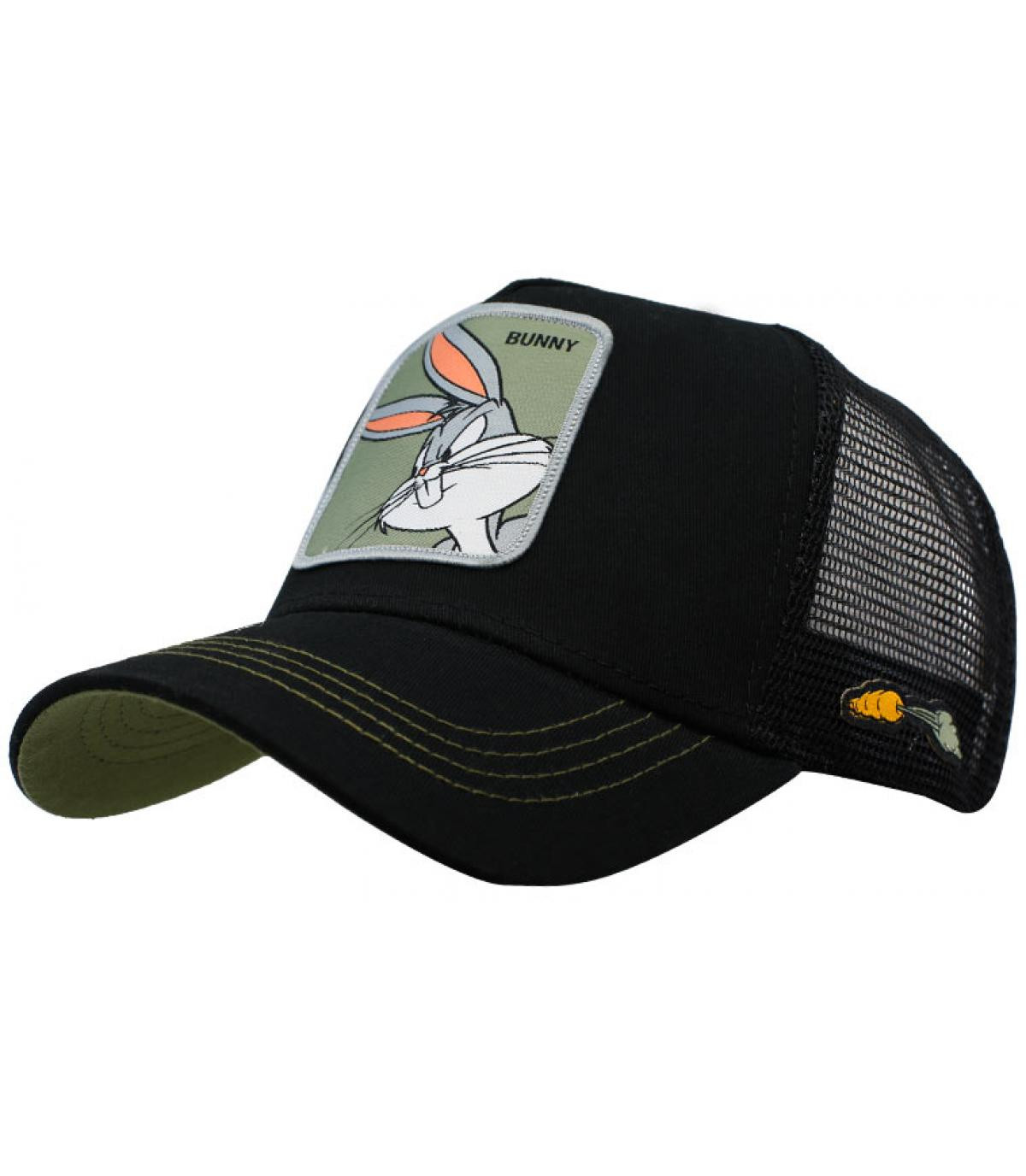trucker Bugs Bunny noir
