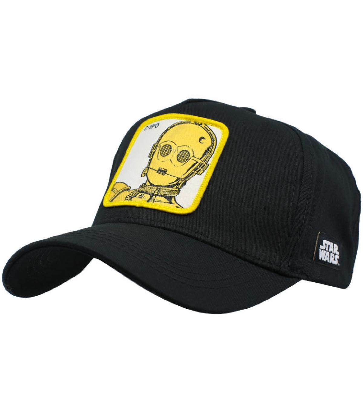 casquetteC-3PO noir
