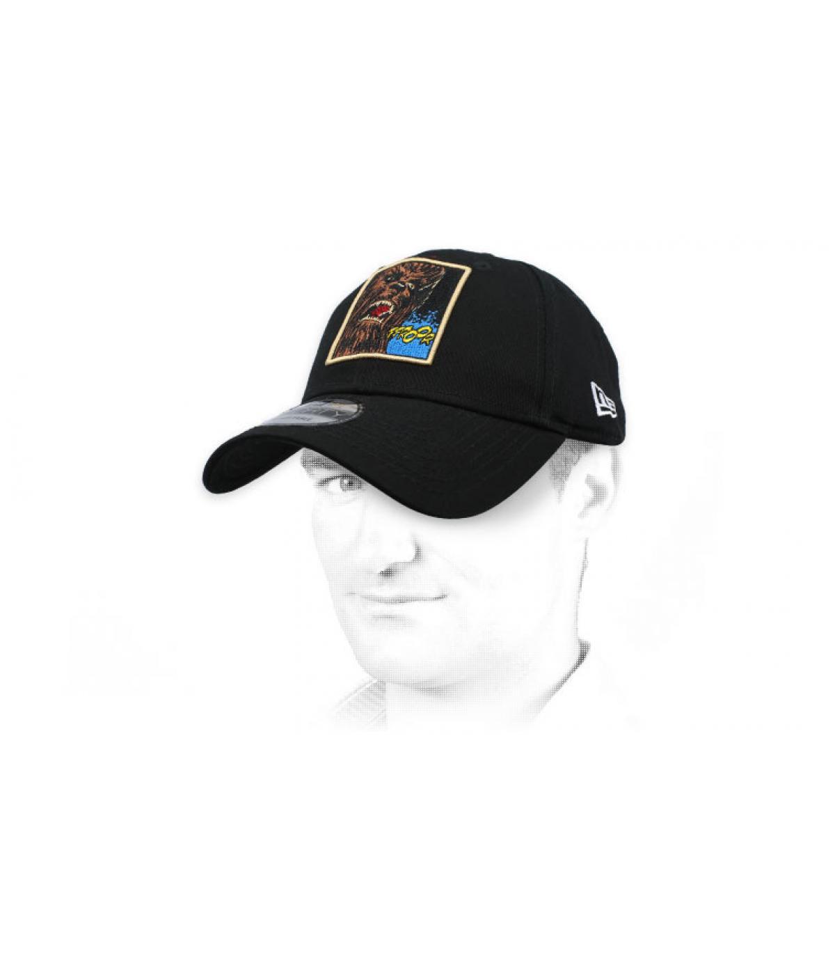 casquette Chubacca noir