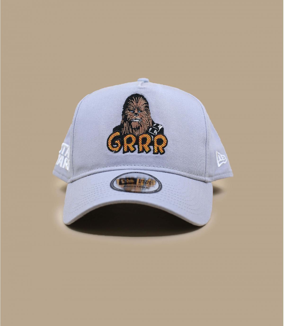 casquette Chubacca gris