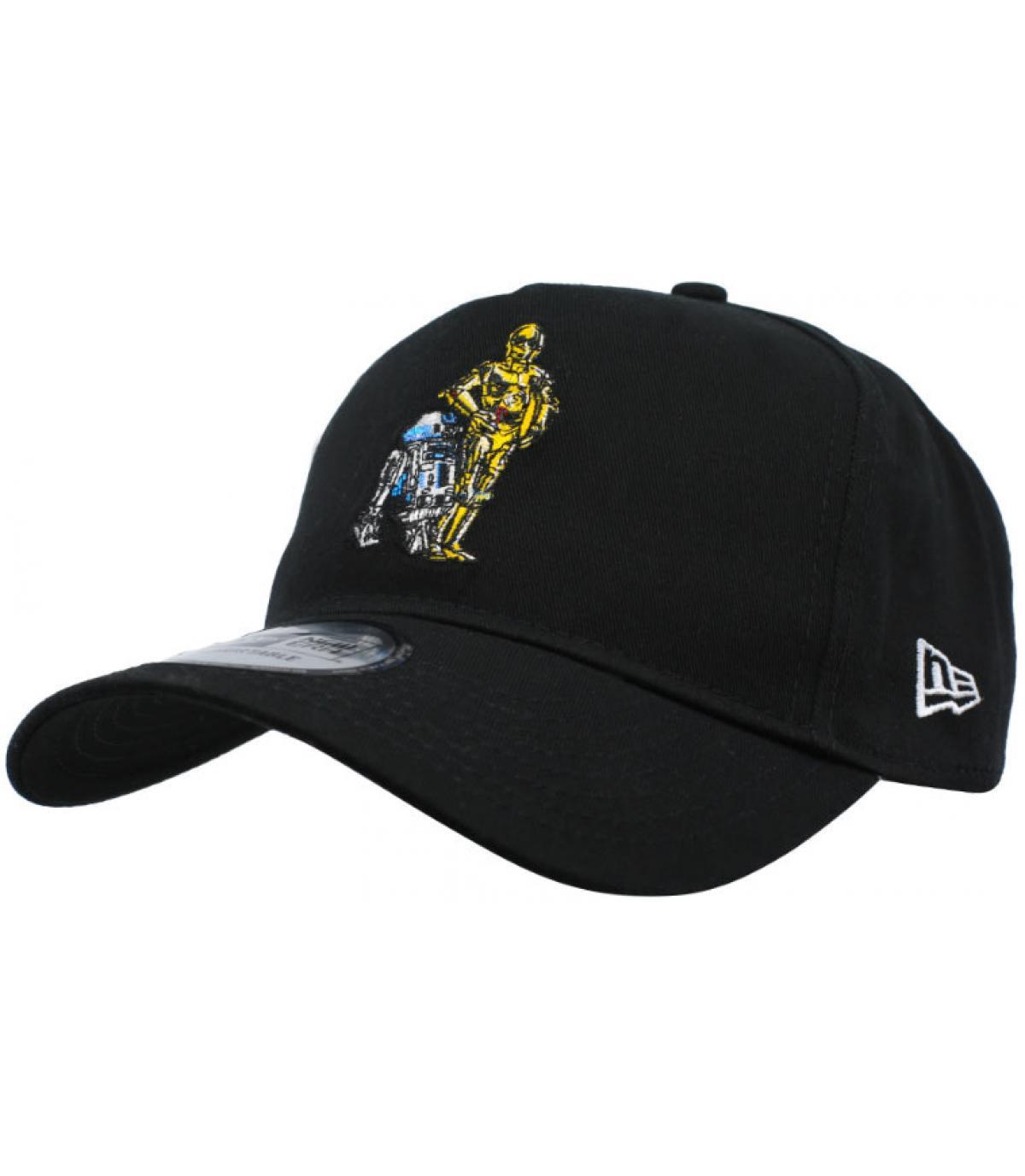 casquette Star Wars Droid noir