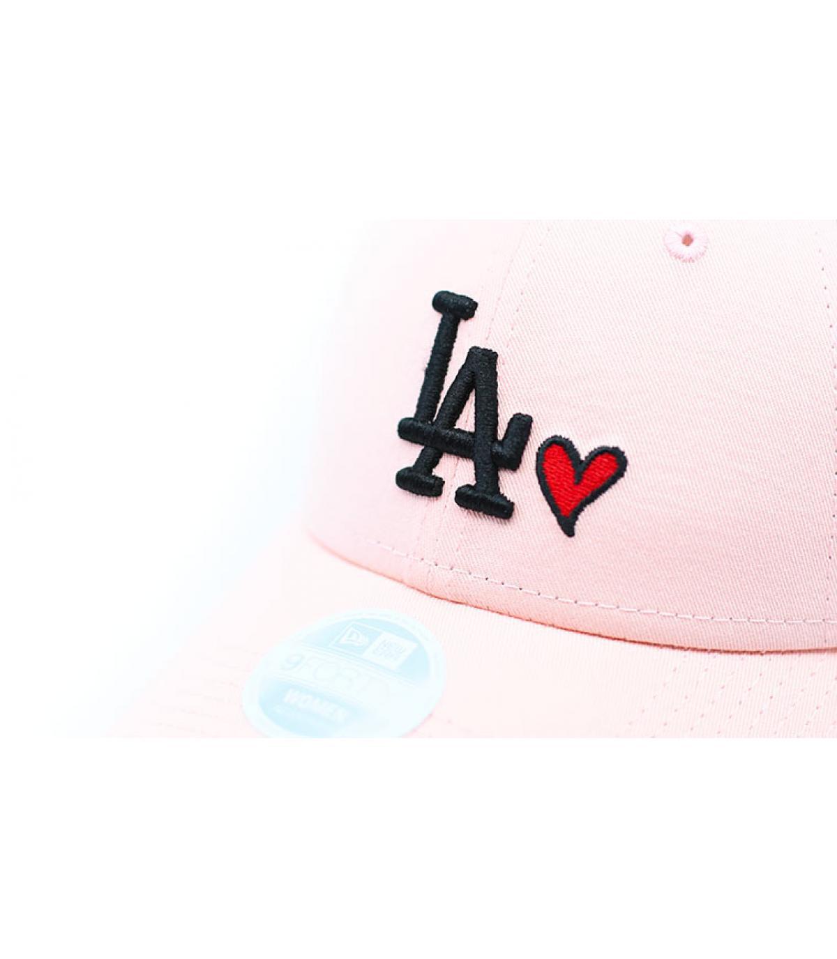 Détails Casquette Wmns Heart LA 940 pink - image 3