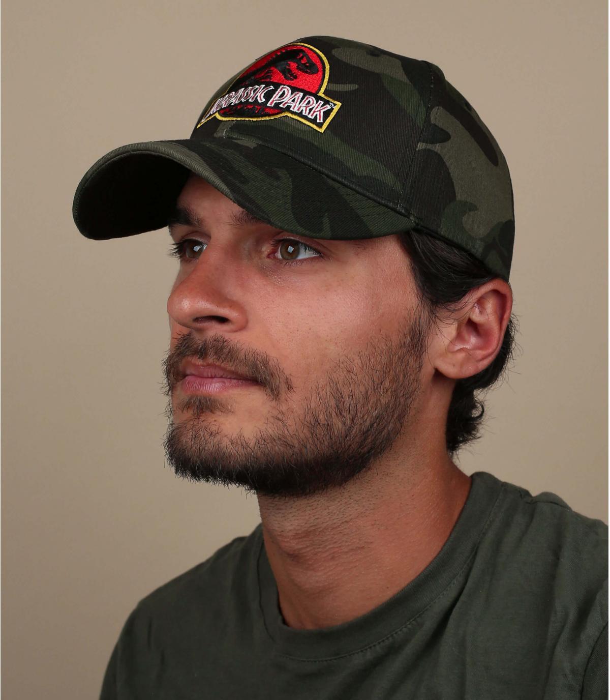 casquette Jurassic Park camo