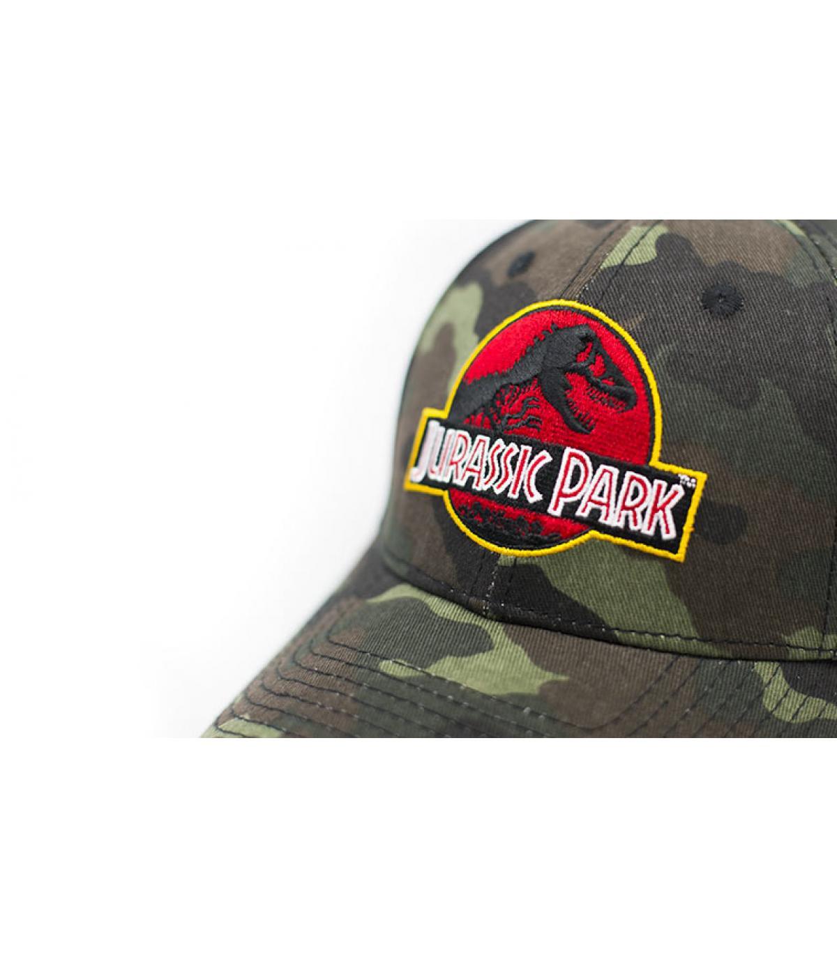 Détails Casquette Jurassic Park Vintage Logo camo - image 3