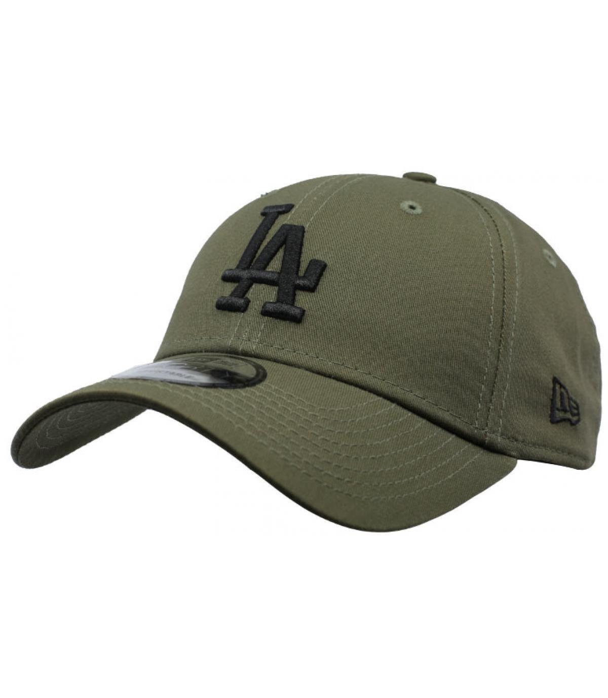 casquette LA vert gris