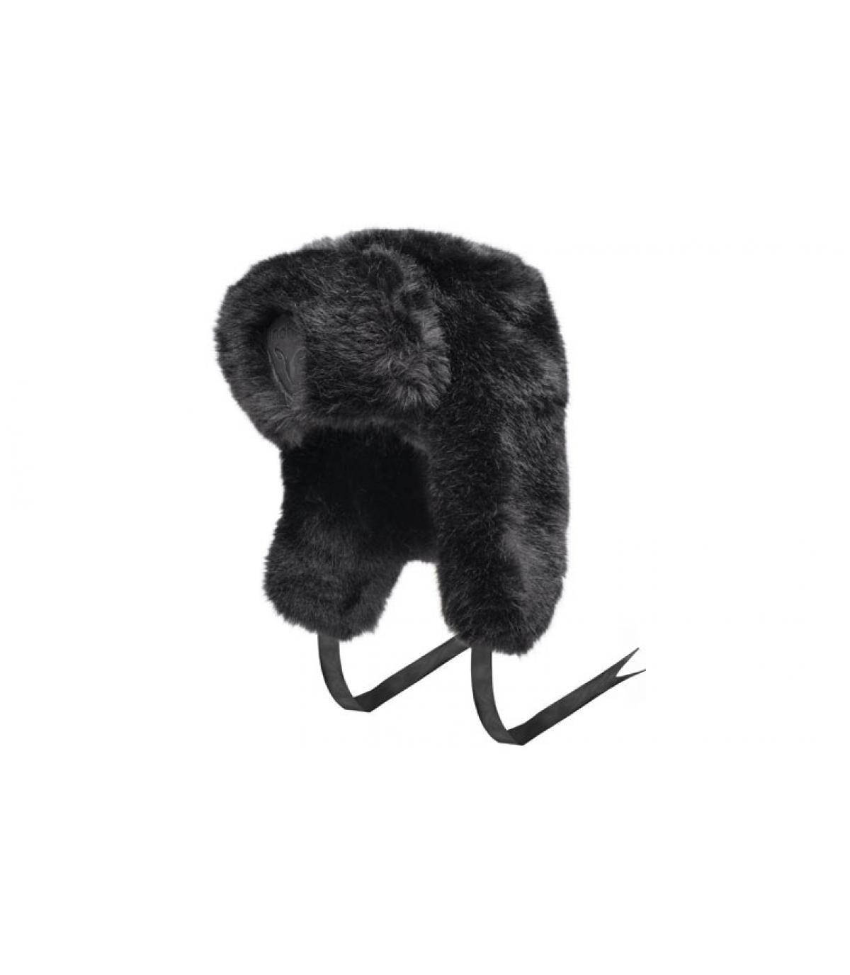chapka toute fourrure sugar lips black par nobis. Black Bedroom Furniture Sets. Home Design Ideas