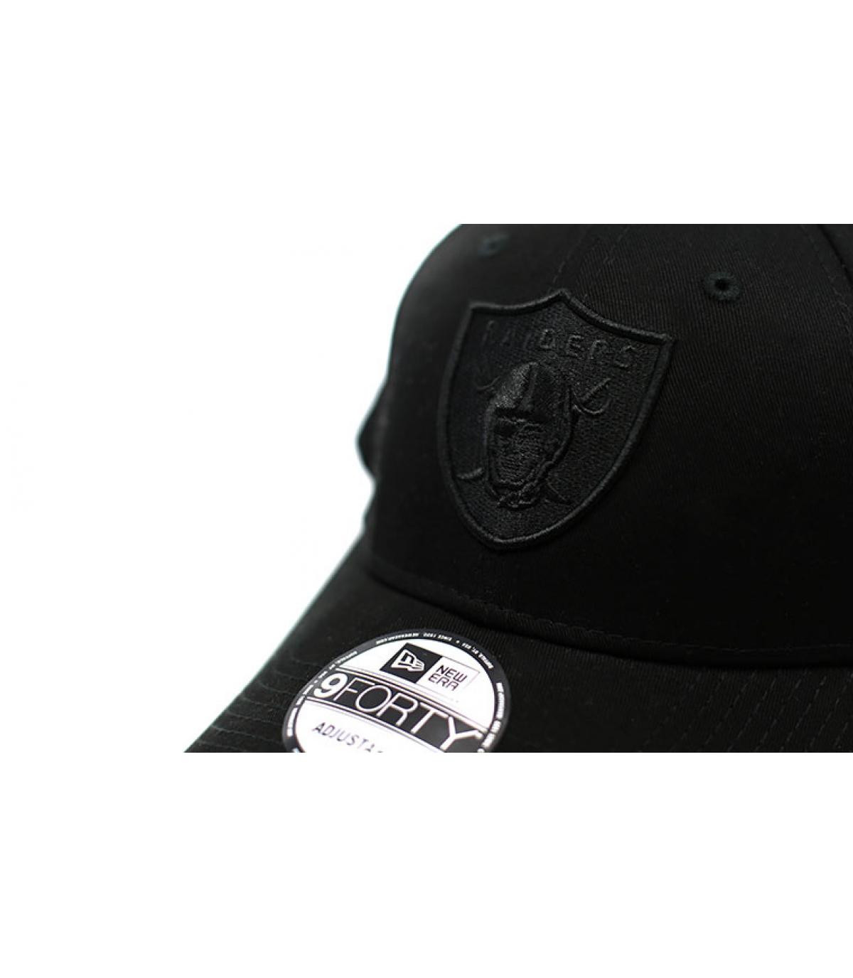 Détails Casquette 9Forty Raiders Snapback black - image 3