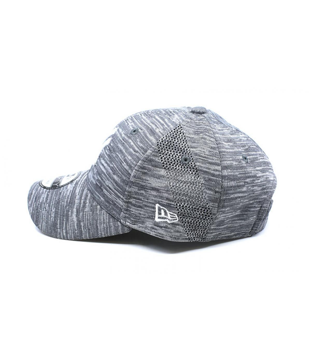 59a1c68c35650 casquette NY gris chiné Engineered - Casquette Engineered Fit NY ...