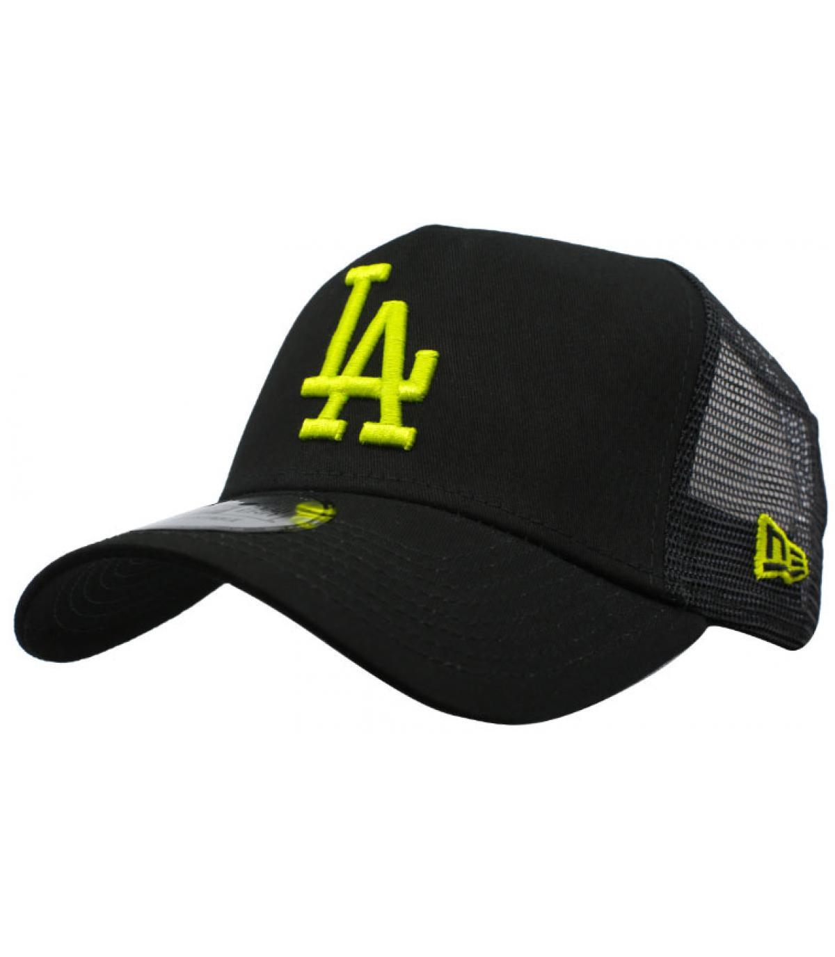 trucker LA noir jaune