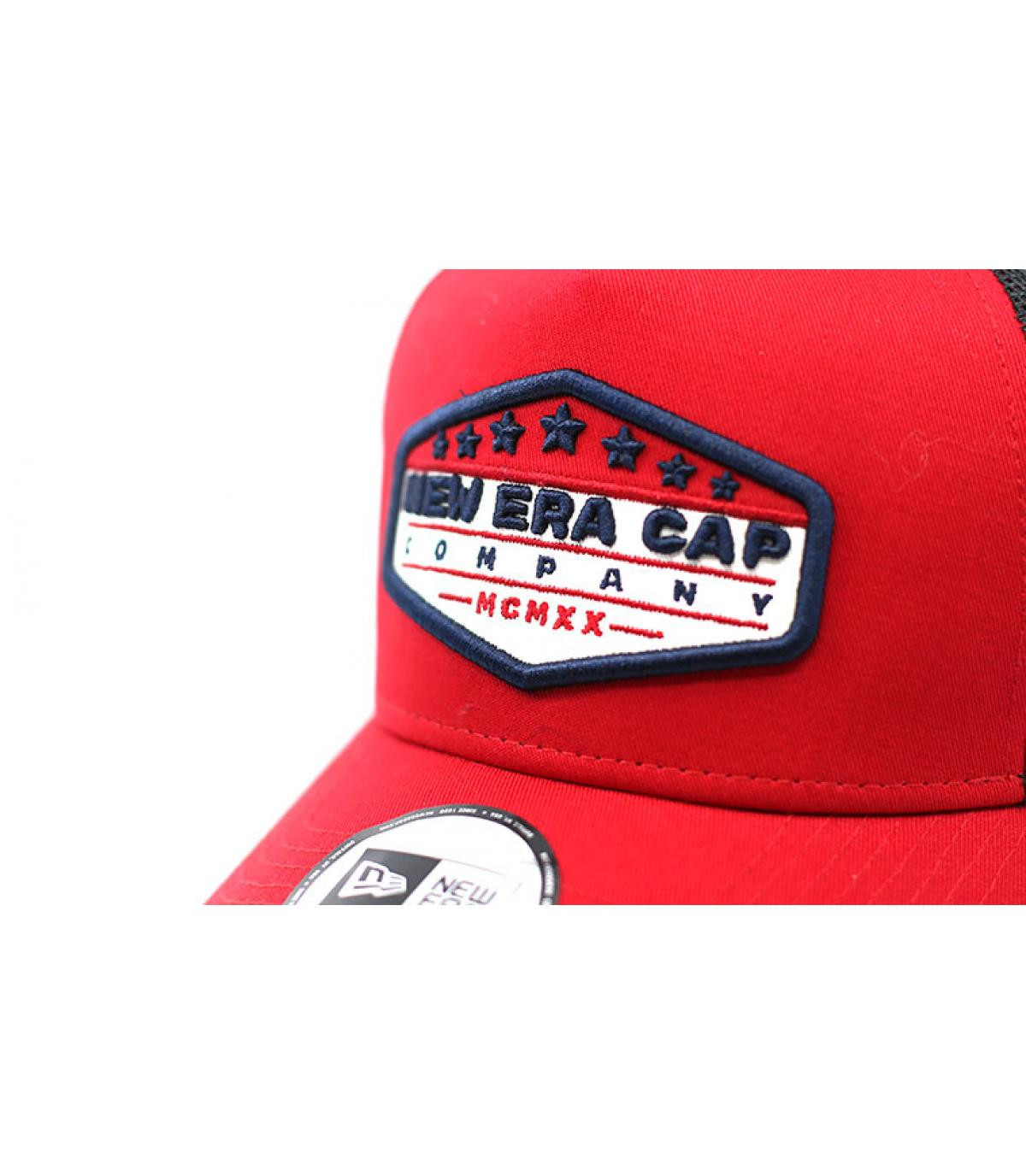 Détails Trucker Patch NE red black - image 3