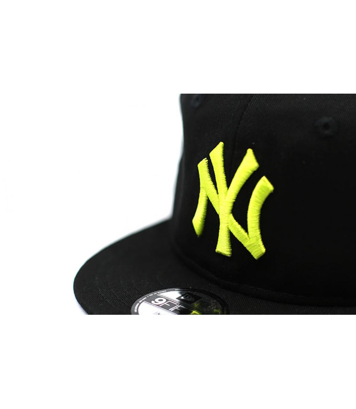 Détails Snapback Baby League Ess NY 9Fifty black cyber yellow - image 3