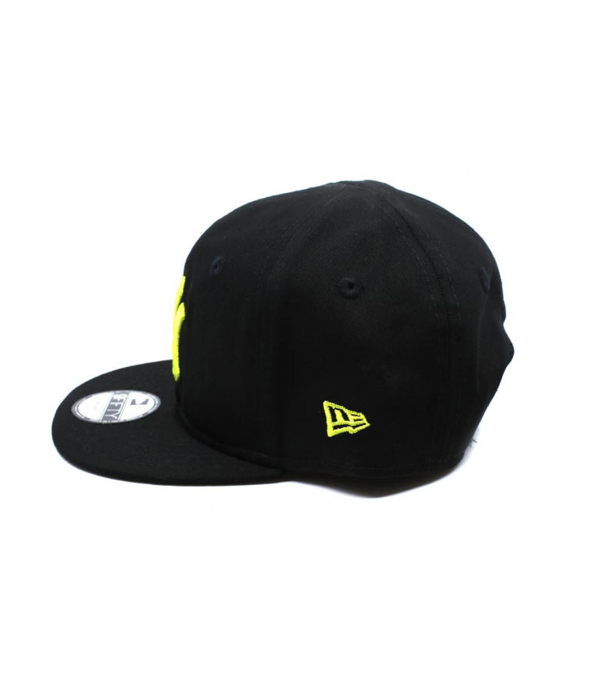 Détails Snapback Baby League Ess NY 9Fifty black cyber yellow - image 4