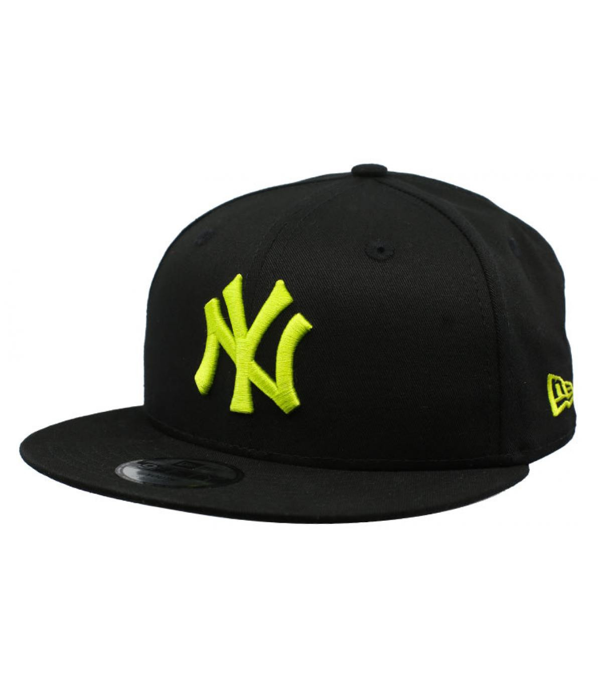 Détails Snapback Kids League Ess NY 9Fifty black cyber yellow - image 2