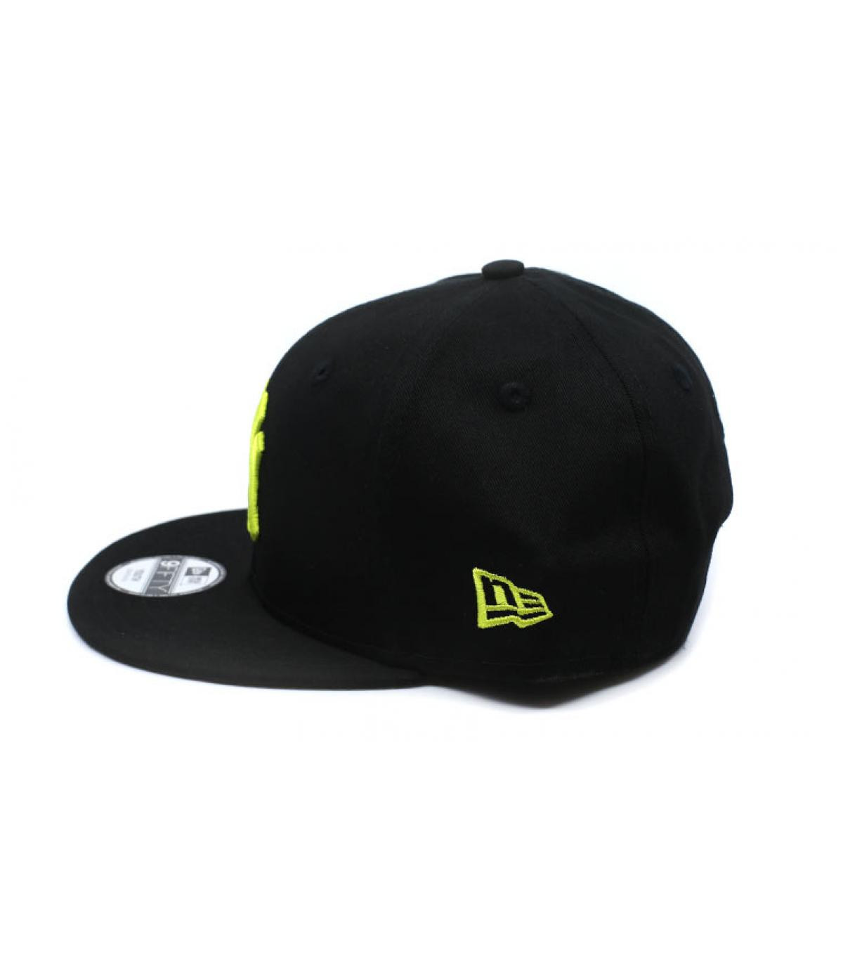 Détails Snapback Kids League Ess NY 9Fifty black cyber yellow - image 4