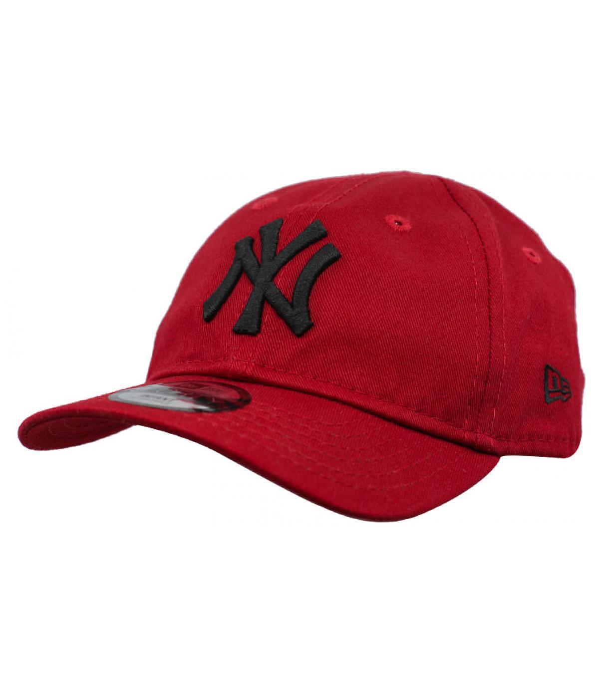 casquette bébé NY rouge