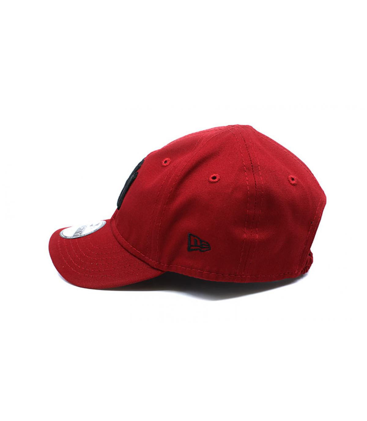 Détails Casquette Baby League Ess NY 9Forty hot red black - image 4