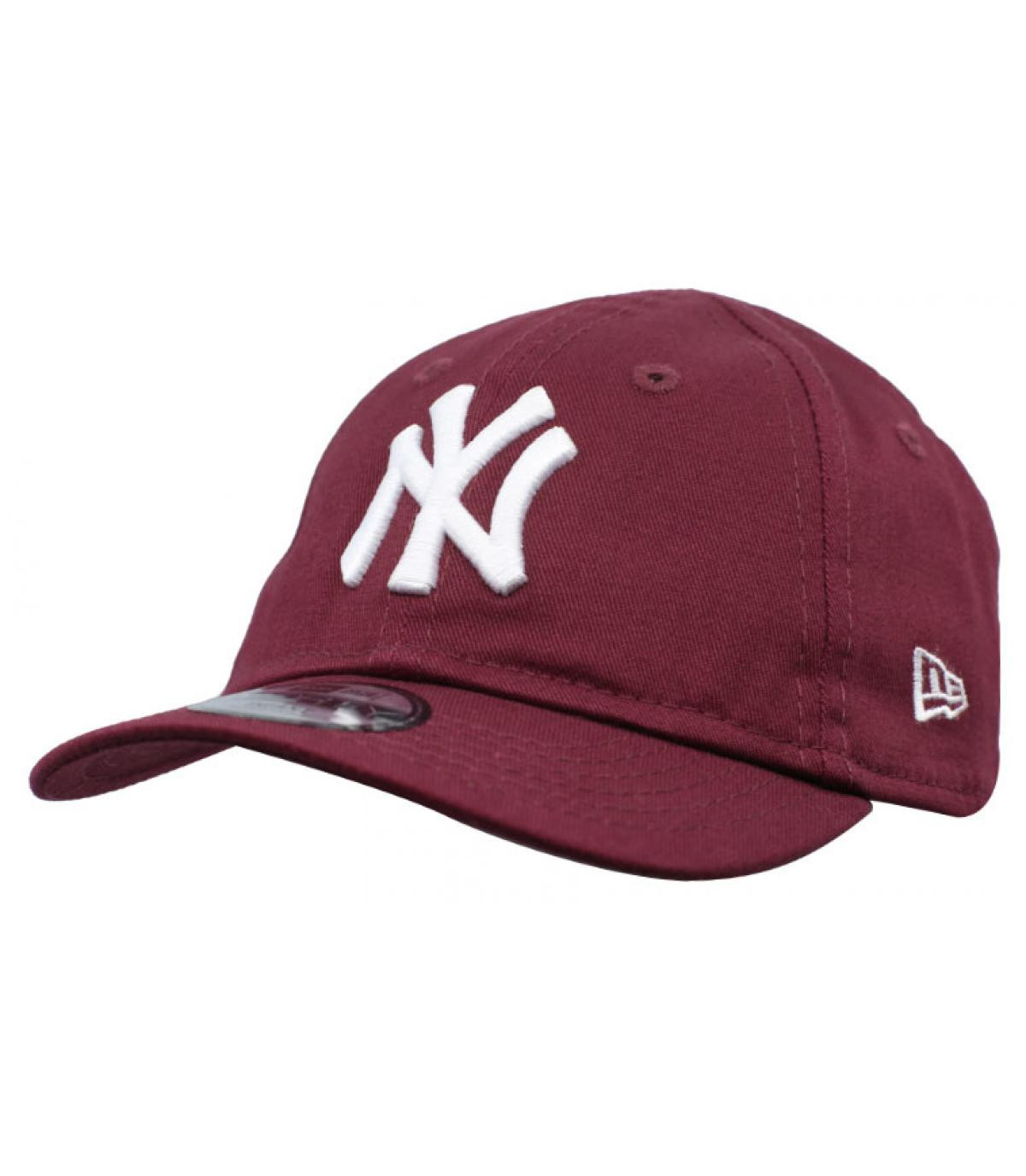 Détails Casquette Baby League Ess NY 9Forty maroon - image 2
