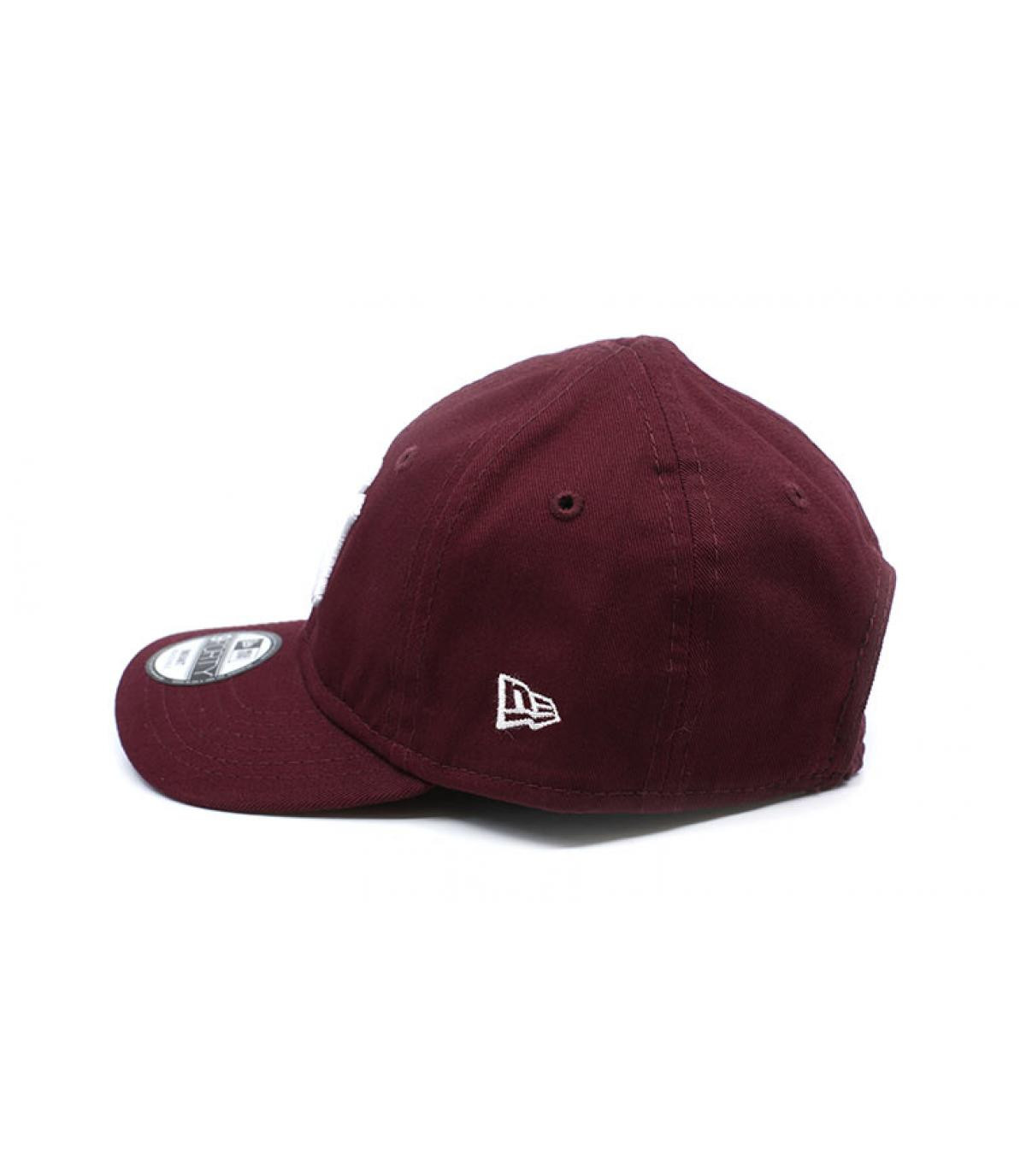 Détails Casquette Baby League Ess NY 9Forty maroon - image 4