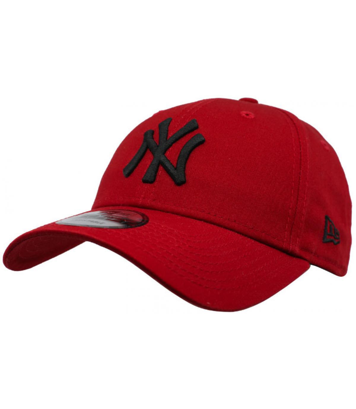 Détails Casquette Kids League Ess NY 9Forty hot red black - image 2