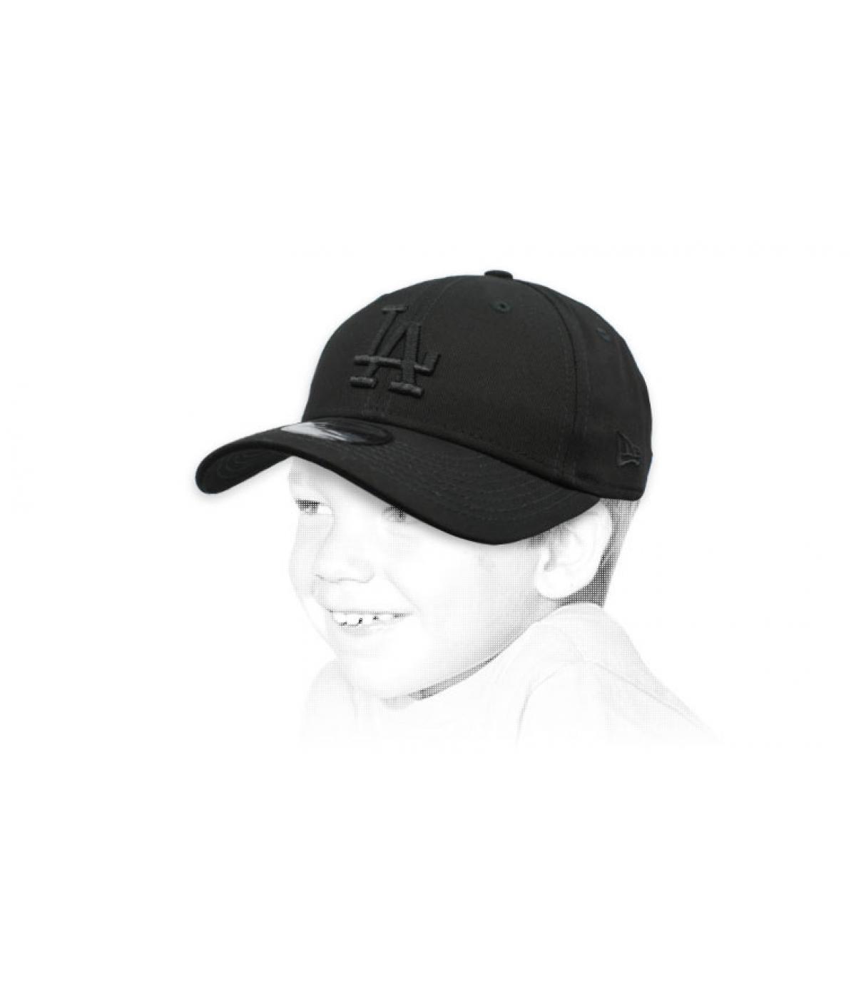 casquette LA enfant noir