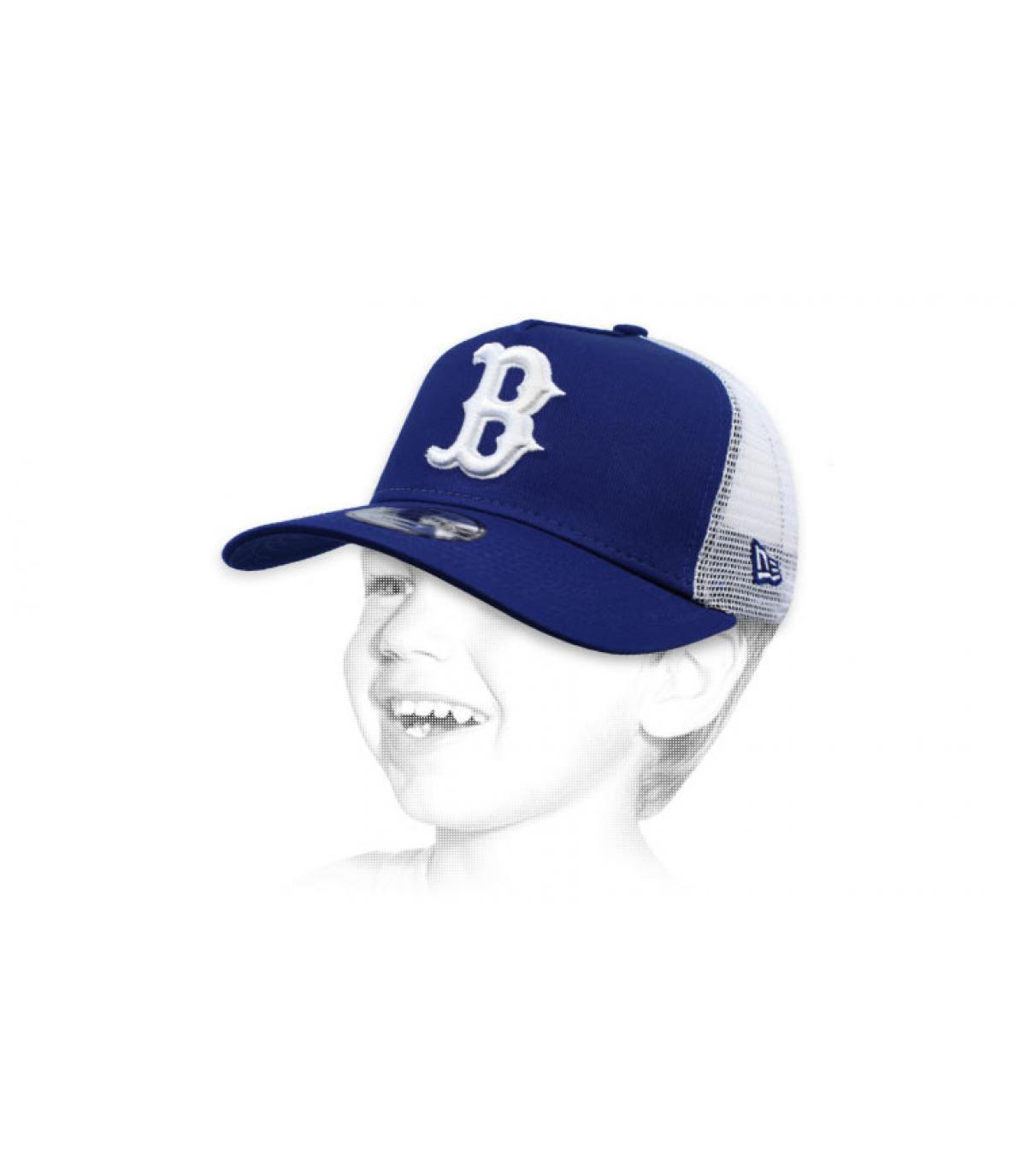 trucker enfant B bleu