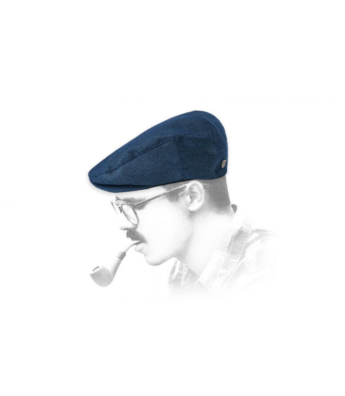béret bleu Brixton