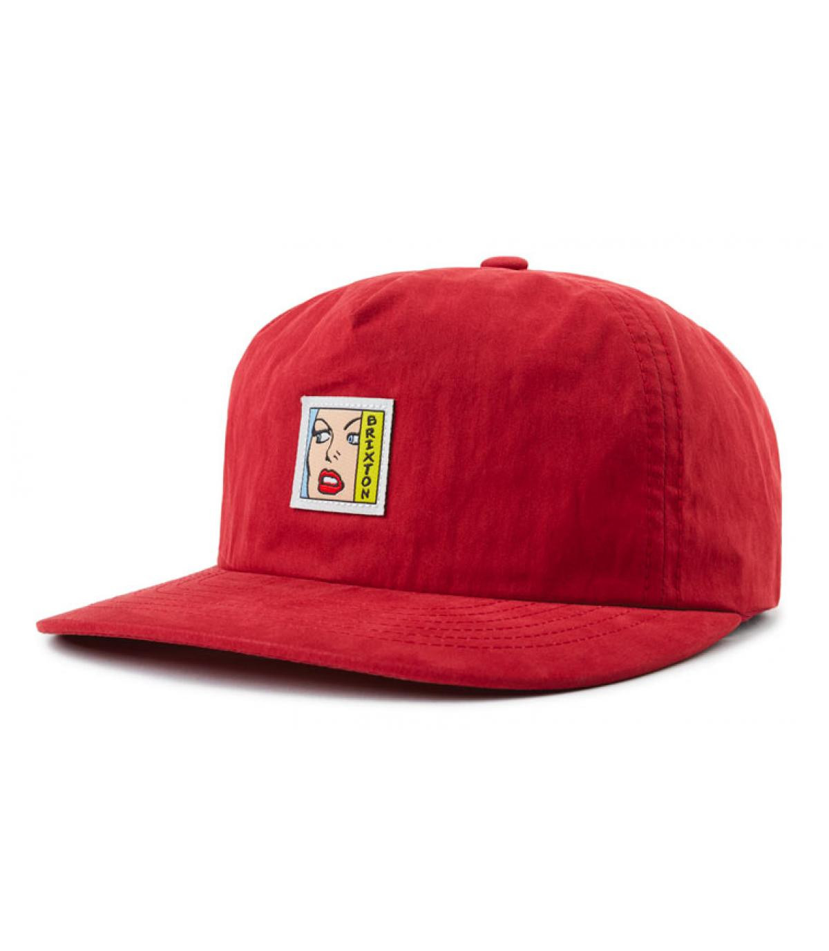casquette rouge pin up