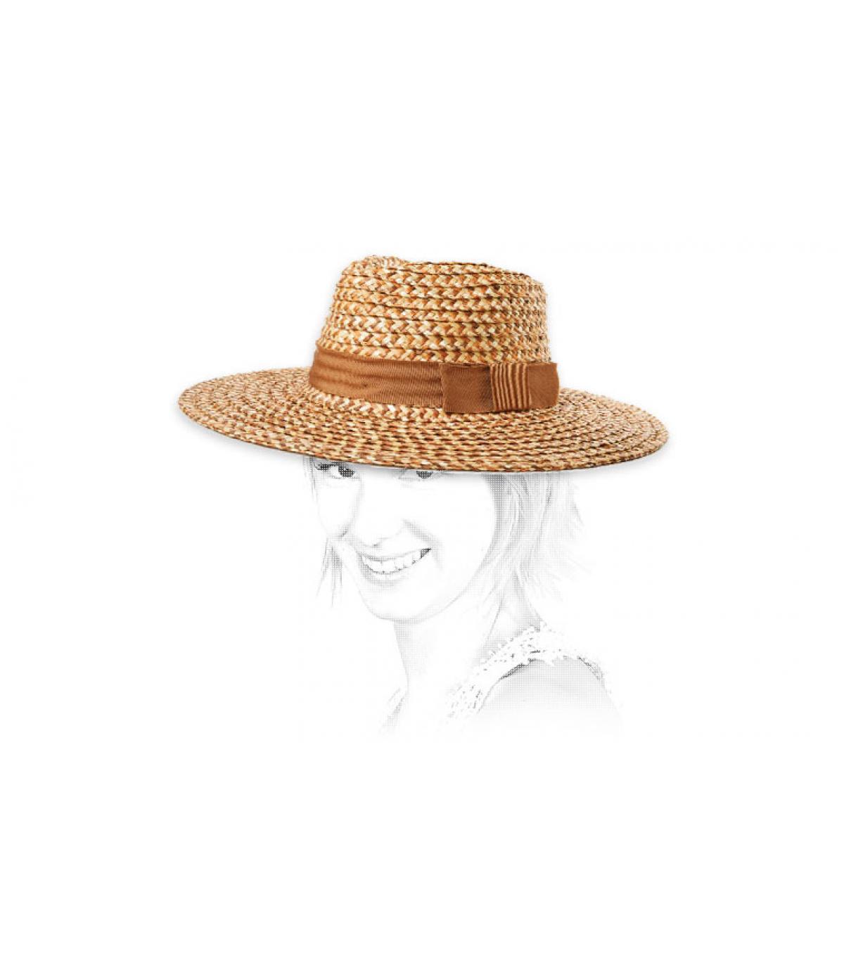 chapeau paille femme Brixton