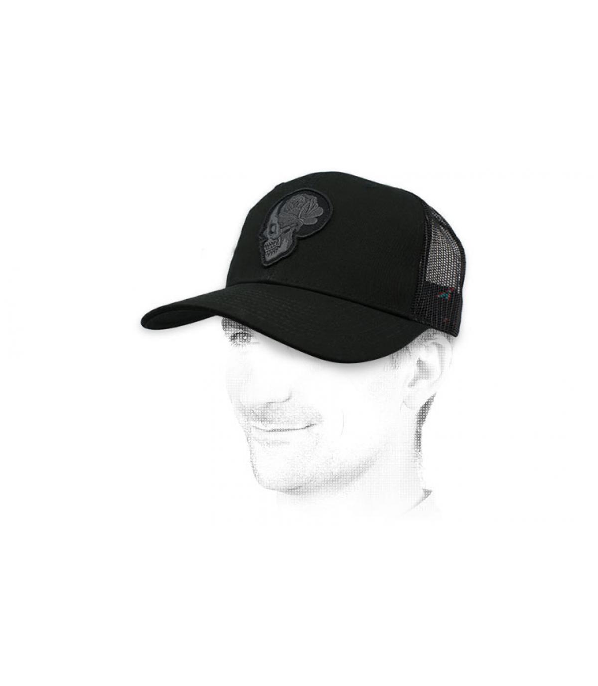 trucker noir crâne Billabong