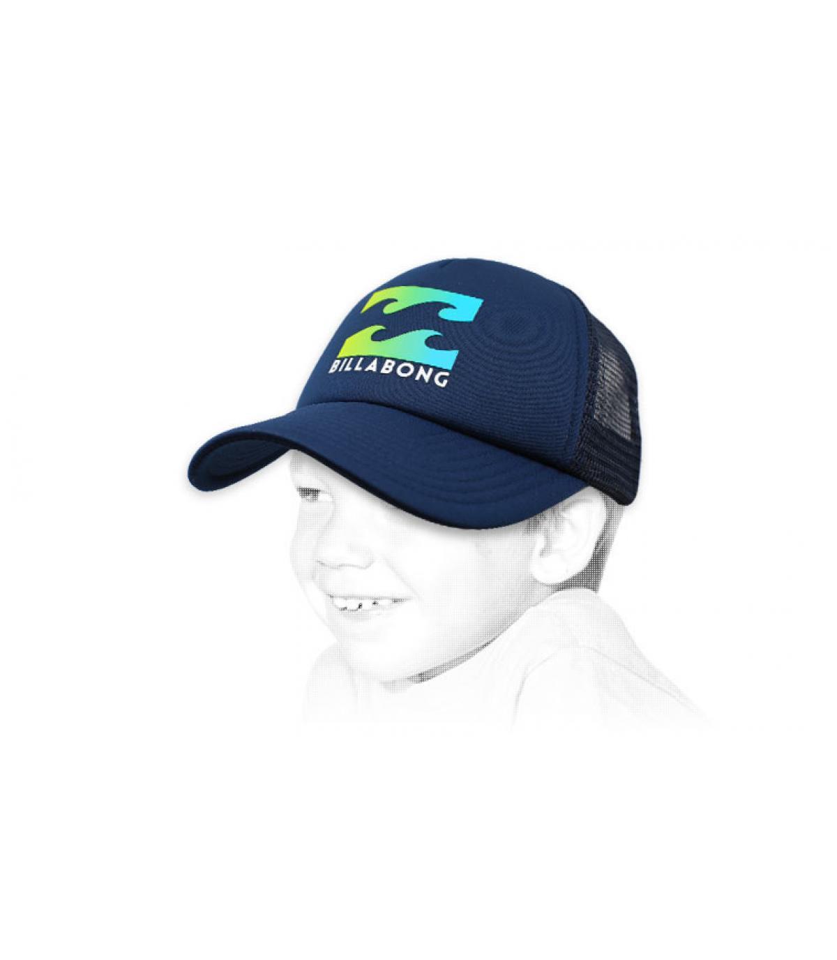trucker enfant Billabong bleu