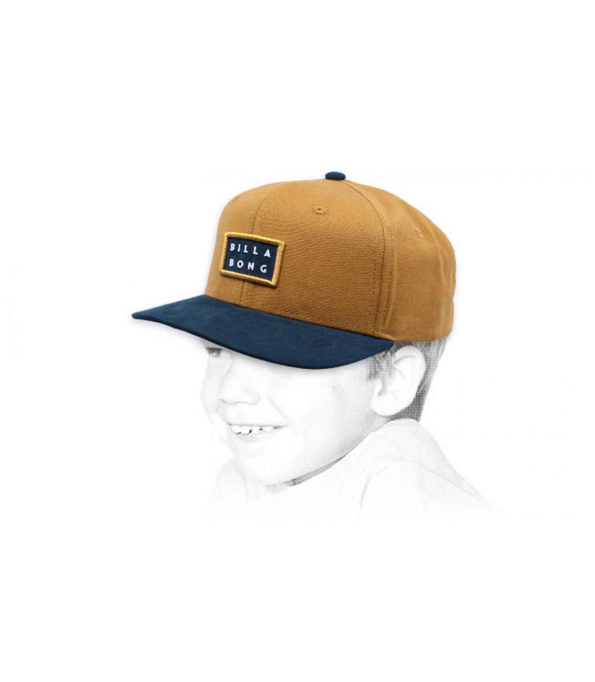casquette enfant beige Billabong