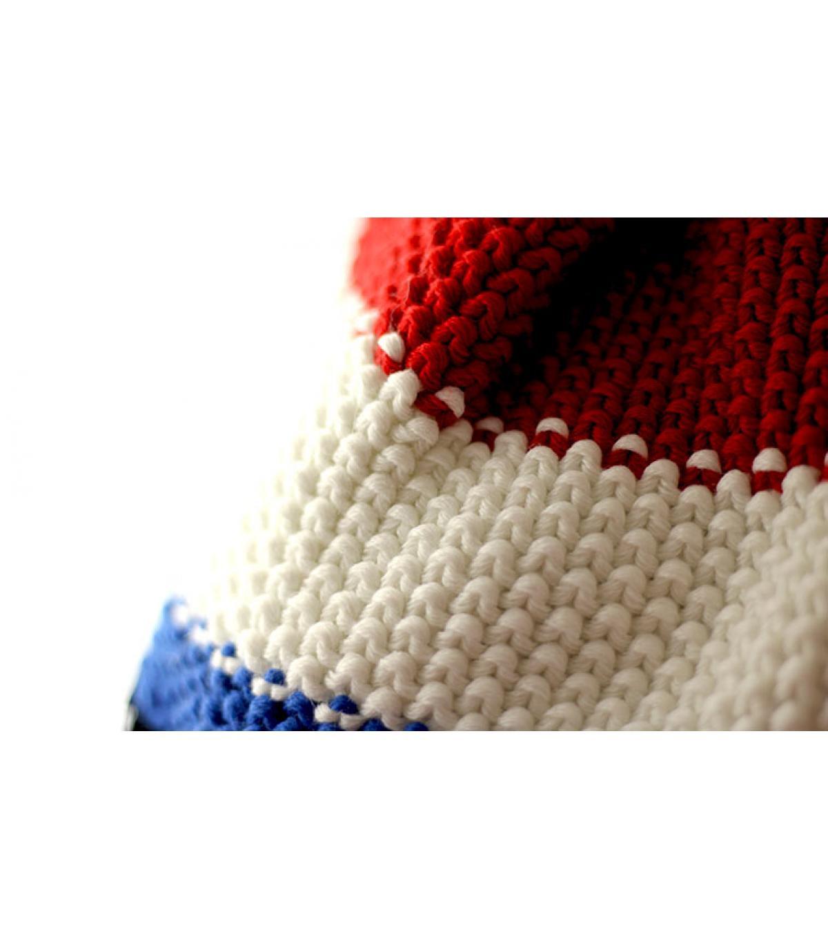Bonnet bleu blanc rouge
