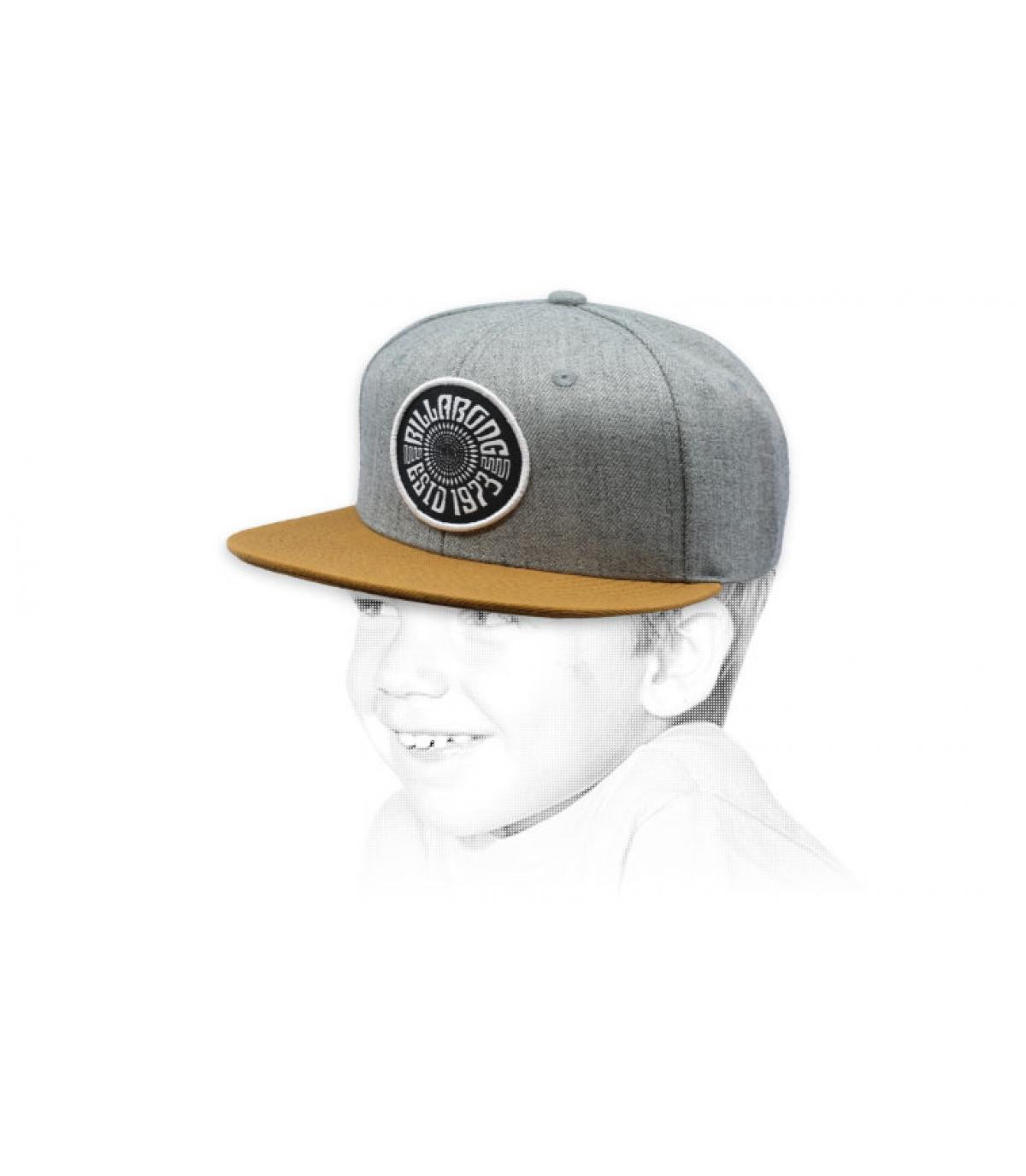 casquette enfant gris Billabong