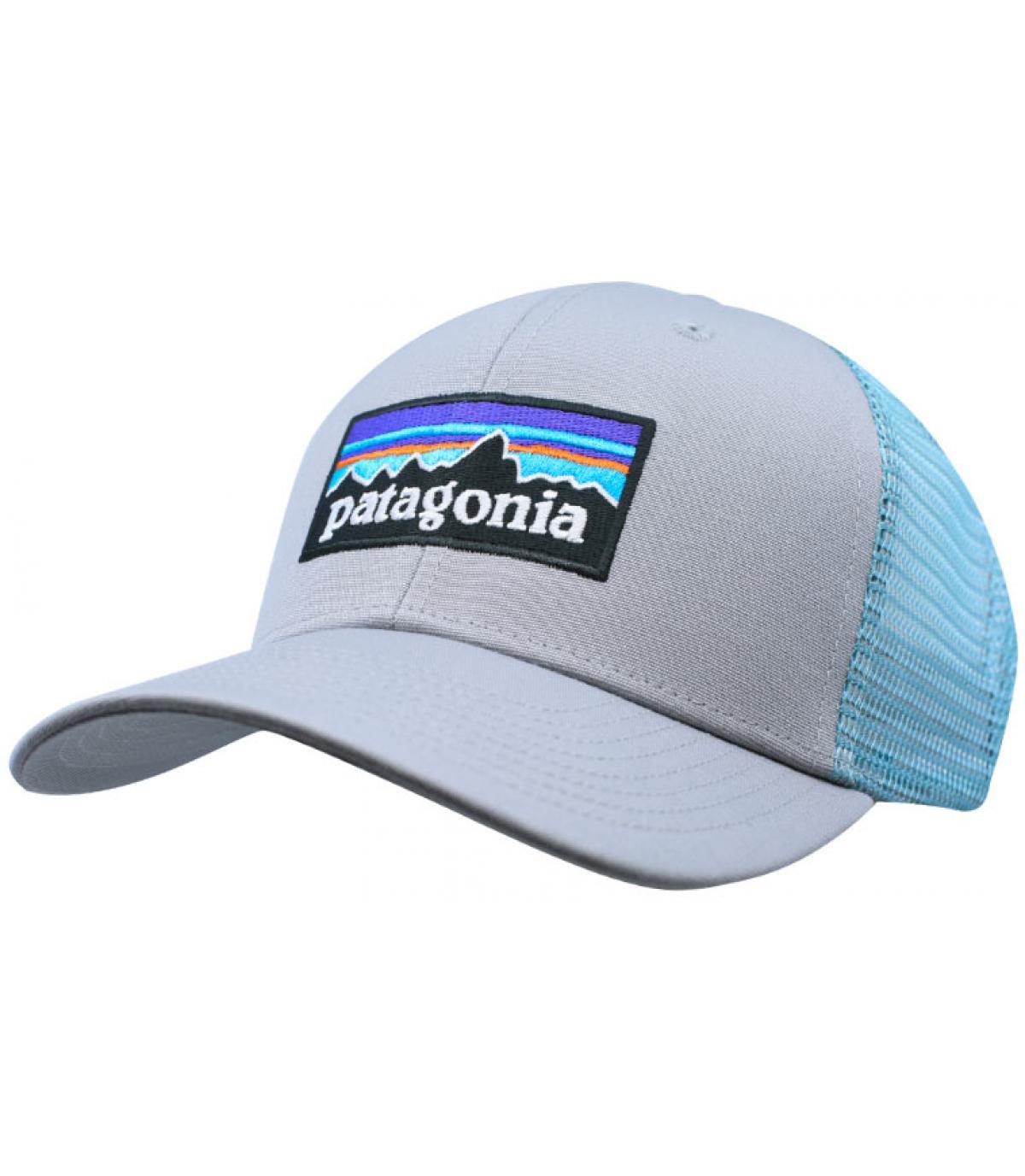 trucker Patagonia gris bleu