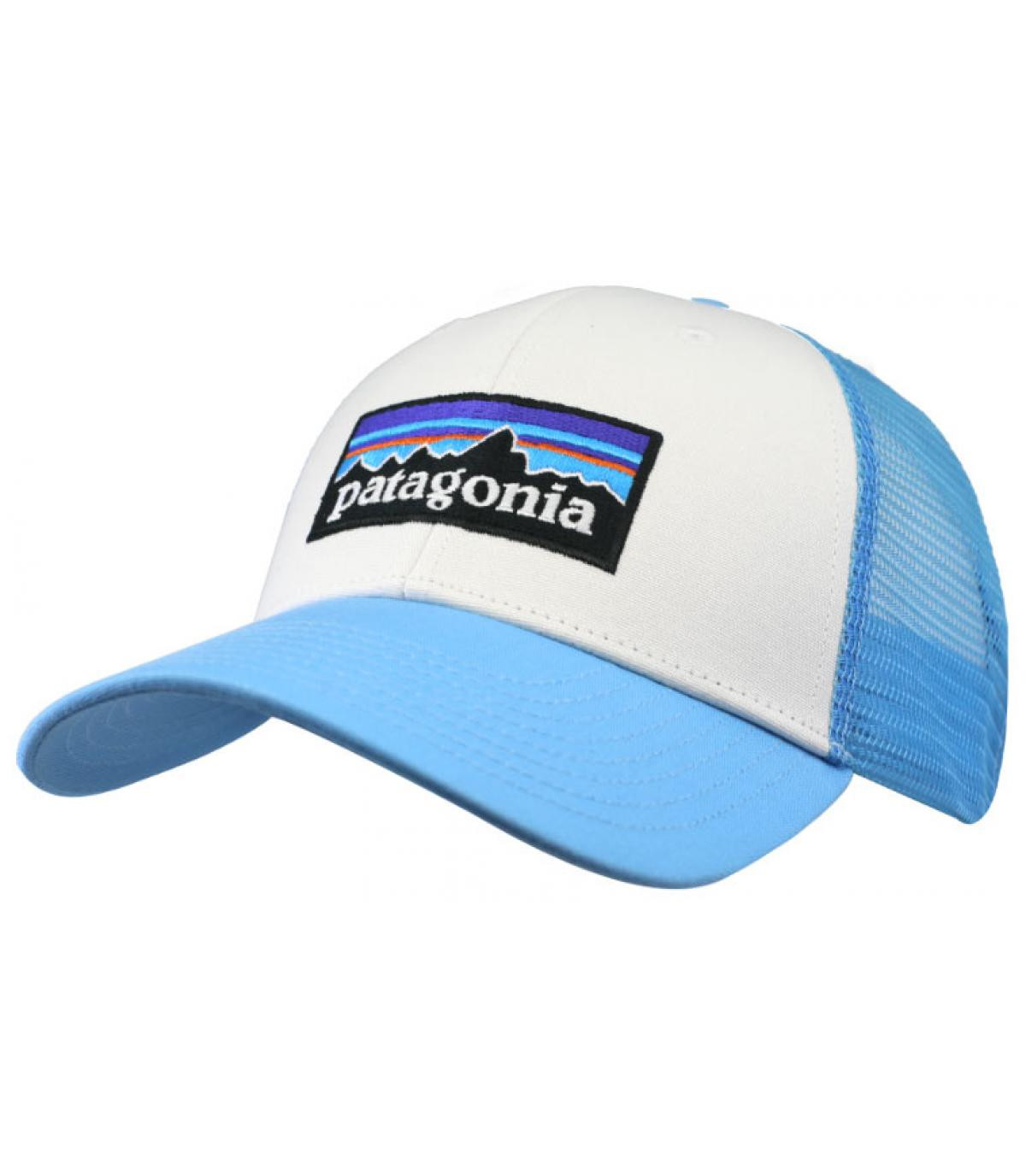 trucker Patagonia bleu blanc