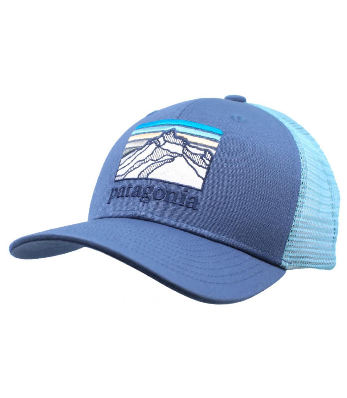 Détails Kids Trucker Line Logo Ridge dolomite  blue - image 2